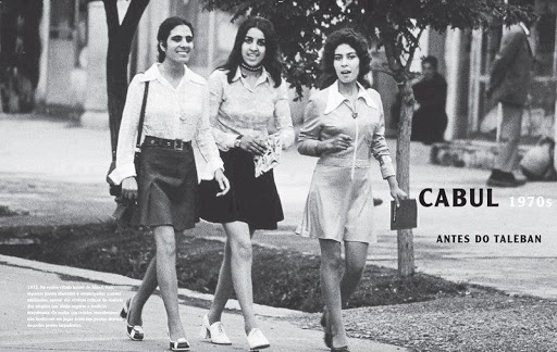 Afghan women in the 1970s before the CIA-led intervention