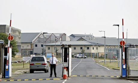 Attacked by men, now imprisoned by men … Yarl's Wood detention centre. Photograph: Getty Images